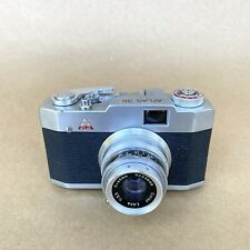 Atlas 35 Vintage 35mm Rangefinder Film Camera (Pax Type) W/ 45mm 1:3.5 (Dent)