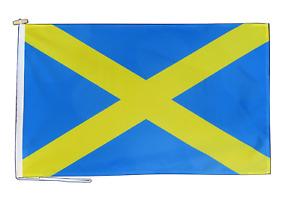Mercia Bandera Con Cuerda Y Conmutador - Varios Tamaños
