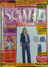 Sew Style & Home UK Sept 2016 Easy Stitch Summer Hits Patterns FREE SHIPPING sb