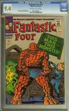 FANTASTIC FOUR #51 CGC 9.4 OW/WH PAGES // STAN LEE STORY + JACK KIRBY COVER