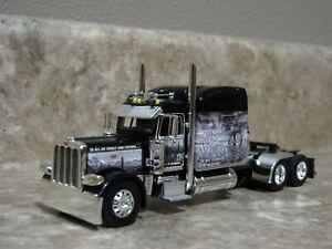 DCP 1/64 Black Open Range Peterbilt Semi Truck Farm Toy