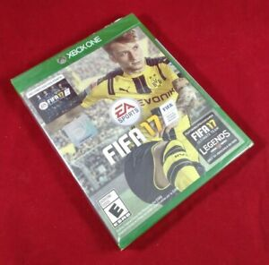 FIFA 17 with Bonus 500 FIFA Ultimate Team Points (Microsoft Xbox One) Sealed