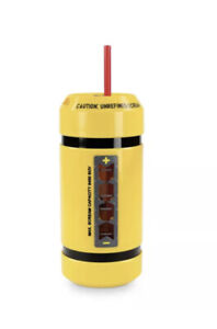 Disney Parks Monster's Inc Scream Canister Can w/Sound Sipper Water Bottle - NEW
