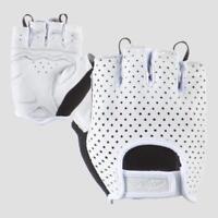 Lizard Skins Aramus Classic Short Finger Road Gloves White Md Bike