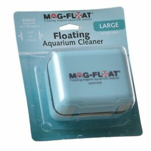 LM Mag Float Floating Magnetic Aquarium Cleaner Acrylic Large (360 Gallons)