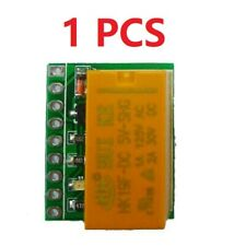 1 Pcs 12V Dc Dpdt Signal Relay Module Dual Channel selector switch Board
