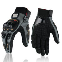 Pair Motorcycle Full Finger Gloves Motorbike Cycling Racing Driving M/L/XL/XXL