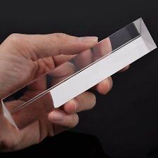 6-Inch Optical Prism Glass Triangular Prism for Science Teaching Photography
