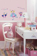 Room Mates Wandsticker Elfen und Prinzessinen