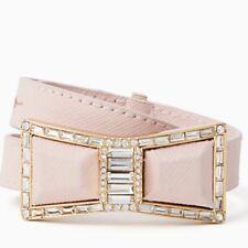 NWT Kate Spade Jackpot Jewels Wrap Bracelet Light Pink Saffiano Leather NEW $128