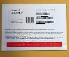 Microsoft OEM MS Windows Pro 8.1 64bit Eng Intl 1pk DVD