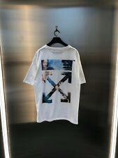 Off White Virgil Abloh Louvre Da Vinci Casual Cotton T-shirt