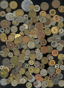 over 500 Different transit tokens