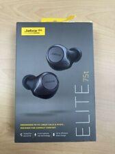 Jabra - Elite 75t True Wireless In-Ear Headphones, Black, New