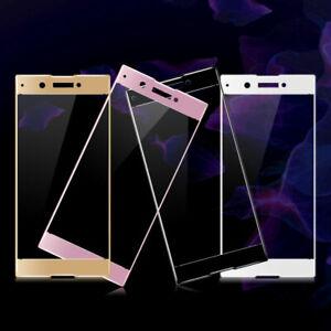 2PCS Sony Xperia XA1 XA2 Ultra Plus Full Cover Tempered Glass Screen Protector
