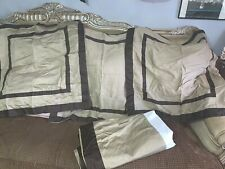 Restoration Hardware Bedskirt & 3 Euro Shams