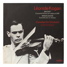 MENDELSSOHN MOZART KOGAN SILVESTRI Violin Concerto LP COLUMBIA SAXF 138 FRANCE