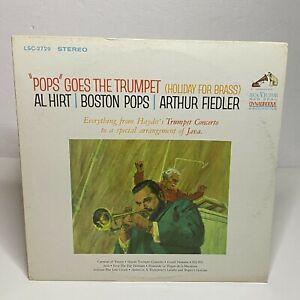 Al Hirt / Boston Pops / Arthur Fiedler: RCA Victor 1964 Vinyl LP Jazz Dixieland