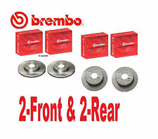 4-Genuine Brembo Rotors  (2-Front & 2-Rear)   Toyota Camry 2002 to 2005