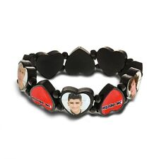 One Direction 'Phase 3' Heart Shaped Bracelet [Unisex Accessories] New