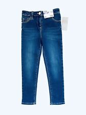 George Girls Skinny Denim Jeans Dark Blue Trousers Age 5-6 Years New With Tags