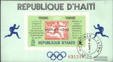 Haiti Block36 (kompl.Ausg.) gestempelt 1969 Marathonsieger der olymp. Spiele