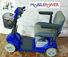 Kymco KforU Mobility Scooter Blue New Batteries Free UK Delivery