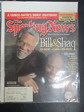 The Sporting News Magazine March 1, 1999 Vol.223 Bill & Shaq One on One