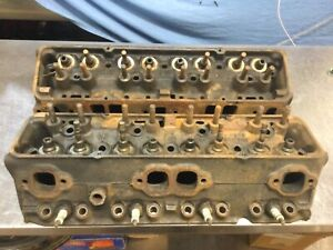 1969 Camaro Z28 302 Heads casting 3927186 I29 Sept 2,1969