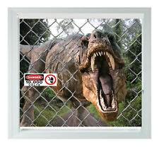 T rex Jurassic World Fence Dino Printed Photo Black Out Roller Blinds 2 3 4 5ft