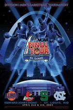 NCAA Men's Basketball FINAL FOUR 2005 Official Event Poster - North Carolina MSU