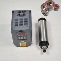 1.5KW WATER COOLED SPINDLE MOTOR CNC MILL ENGRAVING ER16 & VFD DRIVE INVERTER