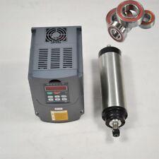 1.5 KW raffreddato acqua SPINDLE MOTOR CNC Mill INCISIONE ER16 & VFD DRIVE INVERTER