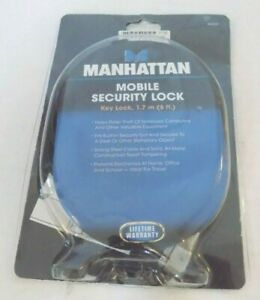 Manhattan 6 Foot Mobile Security Key Lock For Notebook Laptop--FREE SHIPPING!
