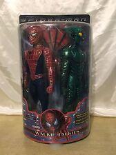 "Spider-man and Green Goblin 12"" Figure Walkie Talkies 2001 Spider-man The Movie"