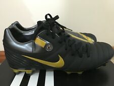 Brand New Nike Total 90 Shift - Soccer Boots In Black And Gold