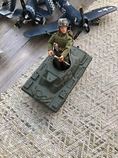 Gi Joe Action Man 1:6 Armoured Car And Soldier