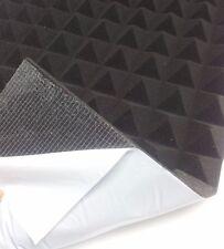 Pyramiden Schaumstoff SELBSTKLEBEND Dämmung Akustik Schallschutz ca. 49 x 49 cm