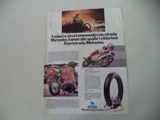 advertising Pubblicità 1980 PNEUMATICI METZELER e KREIDLER VAN VEEN