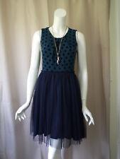 Weston Wear Anthropologie sleeveless Polka Dot Dress size S Excellent