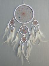 17 cm x 50 cm Dreamcatcher Traumfänger Indianer Träume Geschenk Weiß Creme