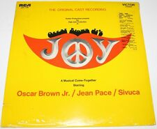 OSCAR BROWN JR - Joy [Cast Recording] [Vinyl LP, 1970] USA ImportLSO-1166 *EXC*