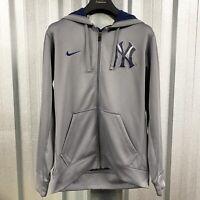 """NIKE NY Yankees Therma-Fit Hooded Jacket *Rare*! VGC Size UK Large 44"""""""