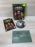 Star Wars: Knights of the Old Republic II - The Sith Lords (Xbox, 2004) complete