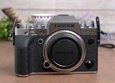 Fuji Fujifilm X-T4 26.1 MP Mirrorless Camera - Silver (Body Only) with Strap
