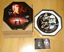 Star Wars UK Exclusive Collectors Plate - Clone Trooper - Series 2 - rare