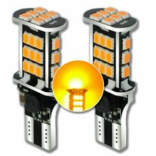 900LM W16W T10 T15 LED Canbus Orange Amber Light Bulbs Blinkers Audi A1