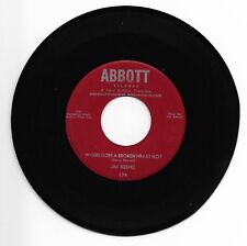 JIM REEVES-ABBOTT 174 COUNTRY 45RPM WHERE DOES A BROKEN GEART GO M- CLEAN LABELS