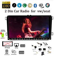 7''2 Din Android GPS Autoradio para VW/Seat+Cámara BT Wifi iOS Enlace Espejo FM