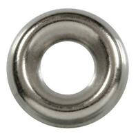 100 Qty #10 Stainless Steel Countersunk Finish Washers | 304 SS Finishing Cup (B